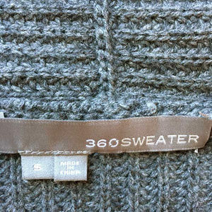 360 Cashmere Sweaters - 360 wool/cashmere cardigan pockets side slits S